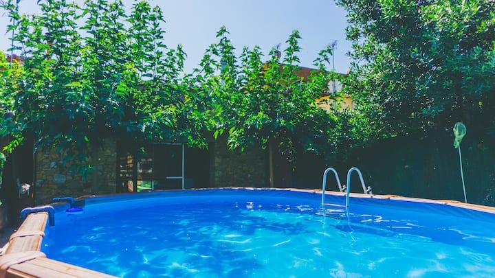 Casa rústica con piscina en la Costa Brava 130 m2