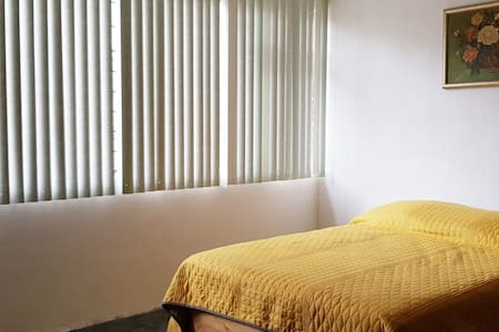 Blue Room, amplia con cama matrimonial, sur CDMX
