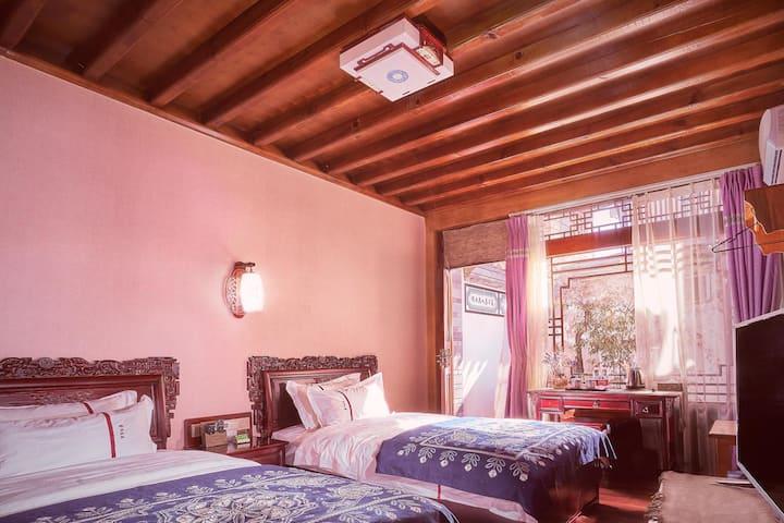沙溪典庭—标准双床房