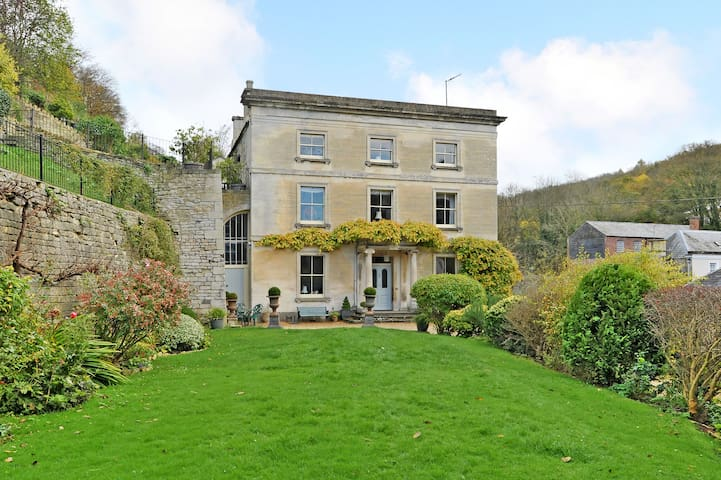 Vale House Green Room, double - Chalford - Bed & Breakfast
