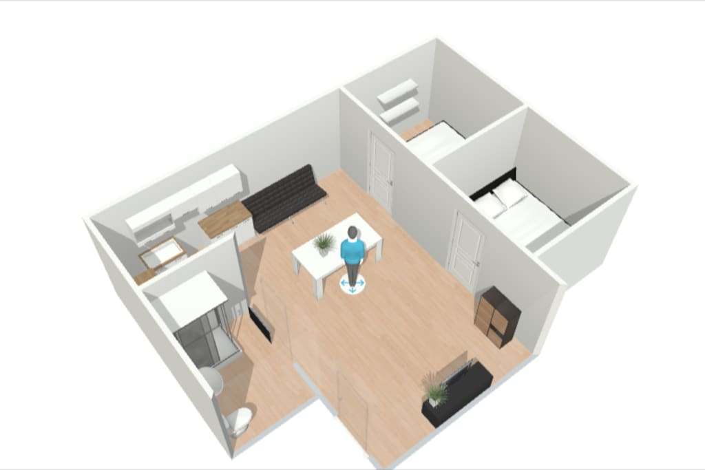 3D Map of the house