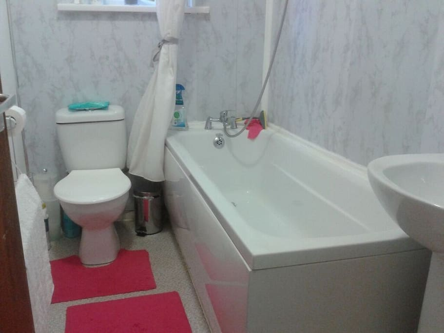 WC with bath and shower