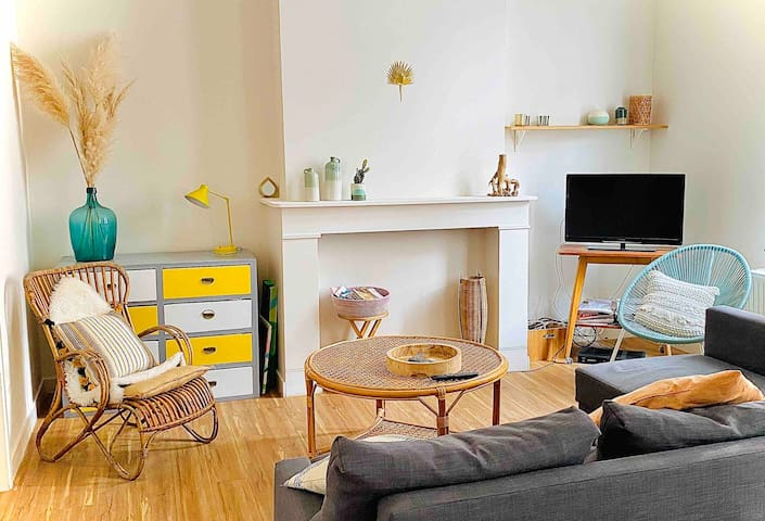 ARTIST APT*15 MIN FROM GRAND-PLACE
