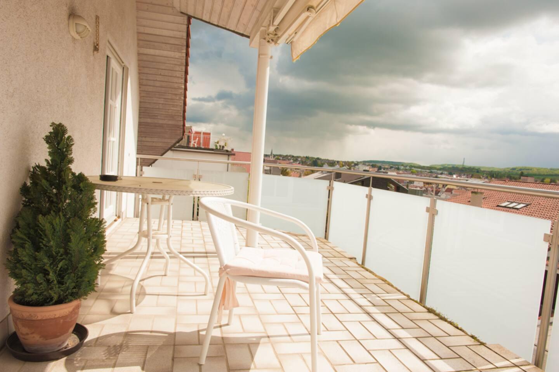 Balkon - Zugang von Wohnzimmer oder Schlafzimmer 'Alpina'