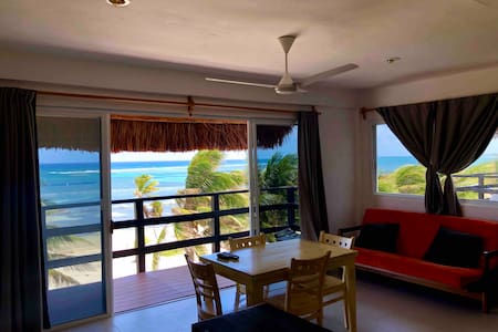 Beach life Mahahual, Ocean front 5 Beds