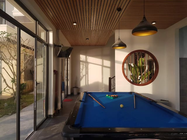 Billiards on site