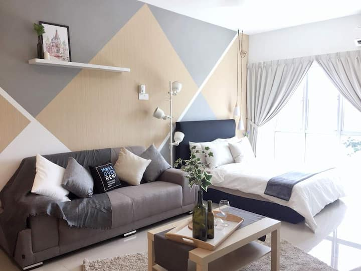 Cozy Studio House @ Seri Kembangan Equine Park
