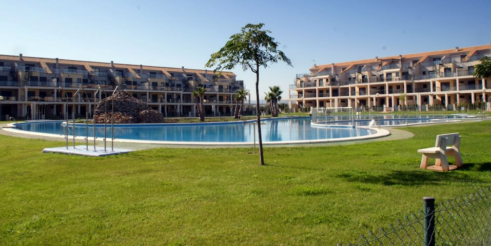 Precioso apto en Panorámica resort golf y piscinas - Sant Jordi - Apartment