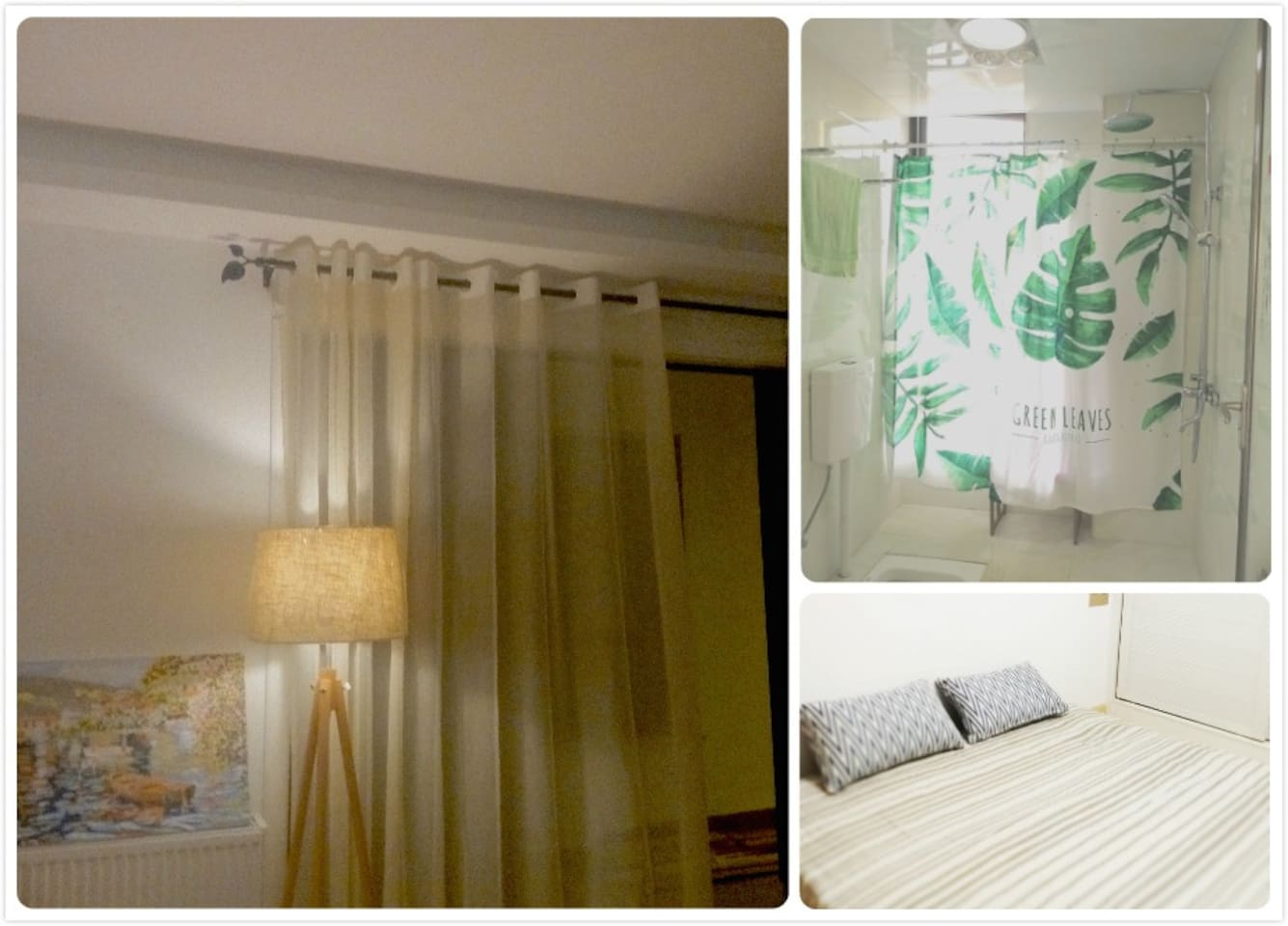一手房东自住精装新房,简约精致,分享我的生活你的故事: Fine decorated brand new apartment:be my guest and tell your story !