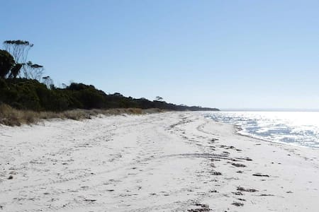 Secluded beach, native bush - Clearwater Haven - Nepean Bay - House