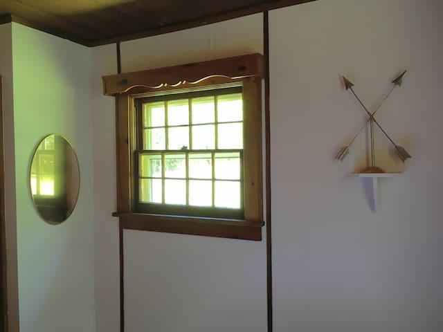 The left bedroom