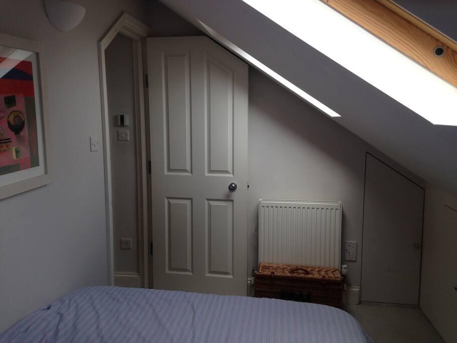 Bedroom entrance.