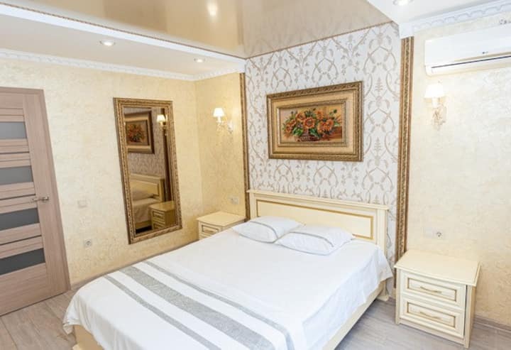 Светлая и свежая квартира, ул. Тараскова 16