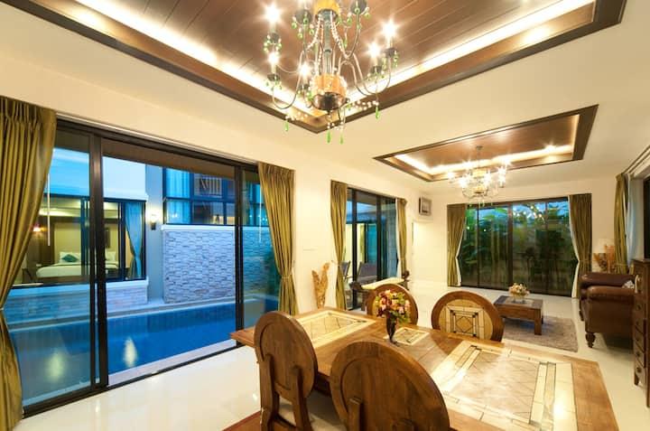 Natcha Pool Villa C Type 3Bedroom