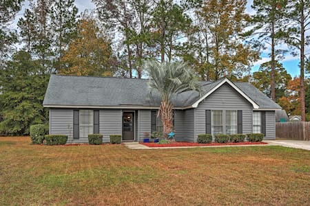Tranquil 4BR Savannah House Near Downtown! - Savannah - Hus