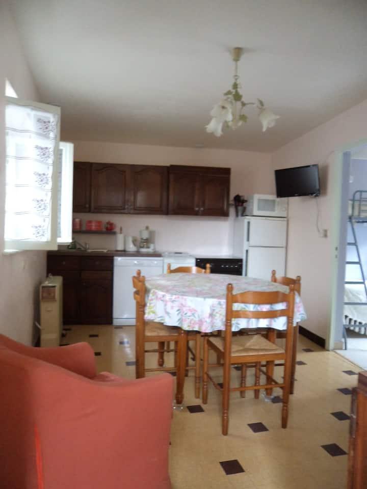 Gite appartement T3 pour 5 personnes