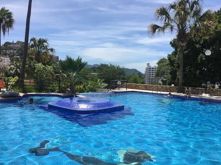 Apartement panoramique sur plage acapulco