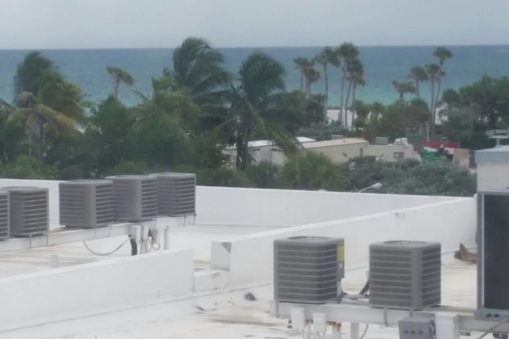 Vista desde depto. Miami Beach