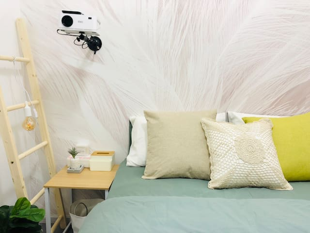 【素年·锦时】5市中心南屏街金马坊翠湖蜗居大床房 给你一个旅途中的家