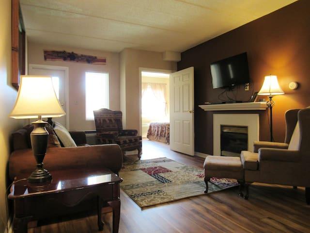 Remodeled 2 bedroom bear theme condo!!!!