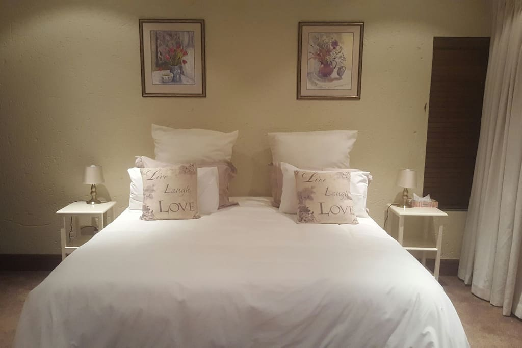 A Super King size bed for extra comfort.