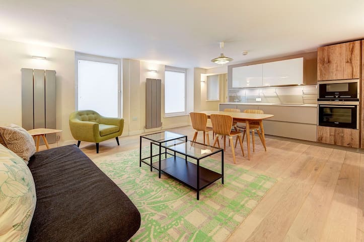 Spacious Quiet Brand New apartment Convent Garden - London - Leilighet
