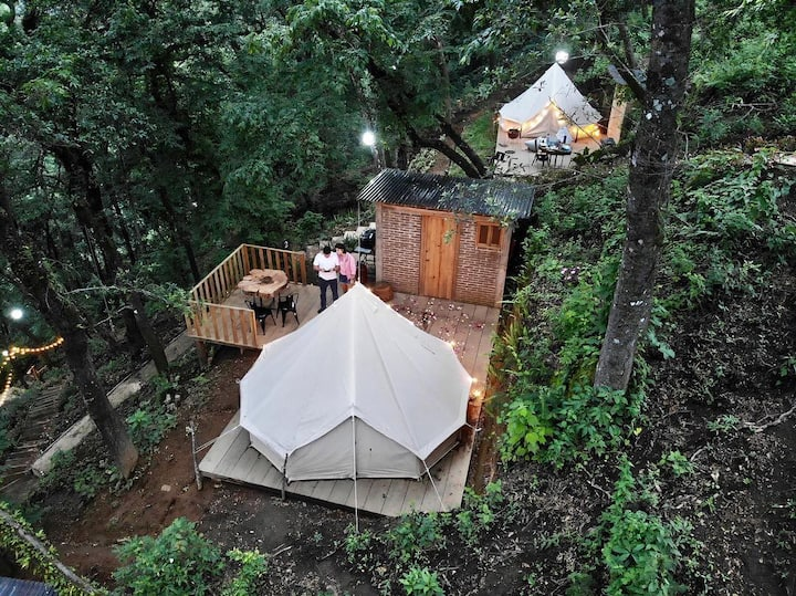 Luxury camping in Antigua - Casa Blanca Glamping 8