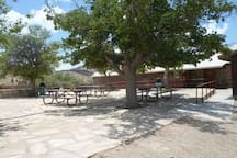 "Terlingua Ranch Lodge ""Bad Rabbit"" restaurant outdoor area...only 4 miles away."