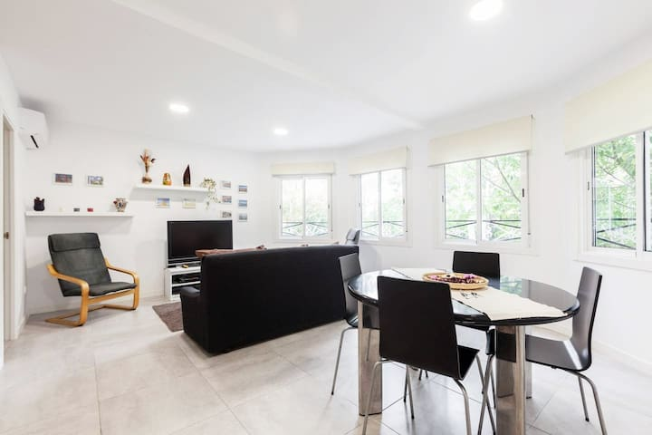 Apartamento ideal para largas estancias.
