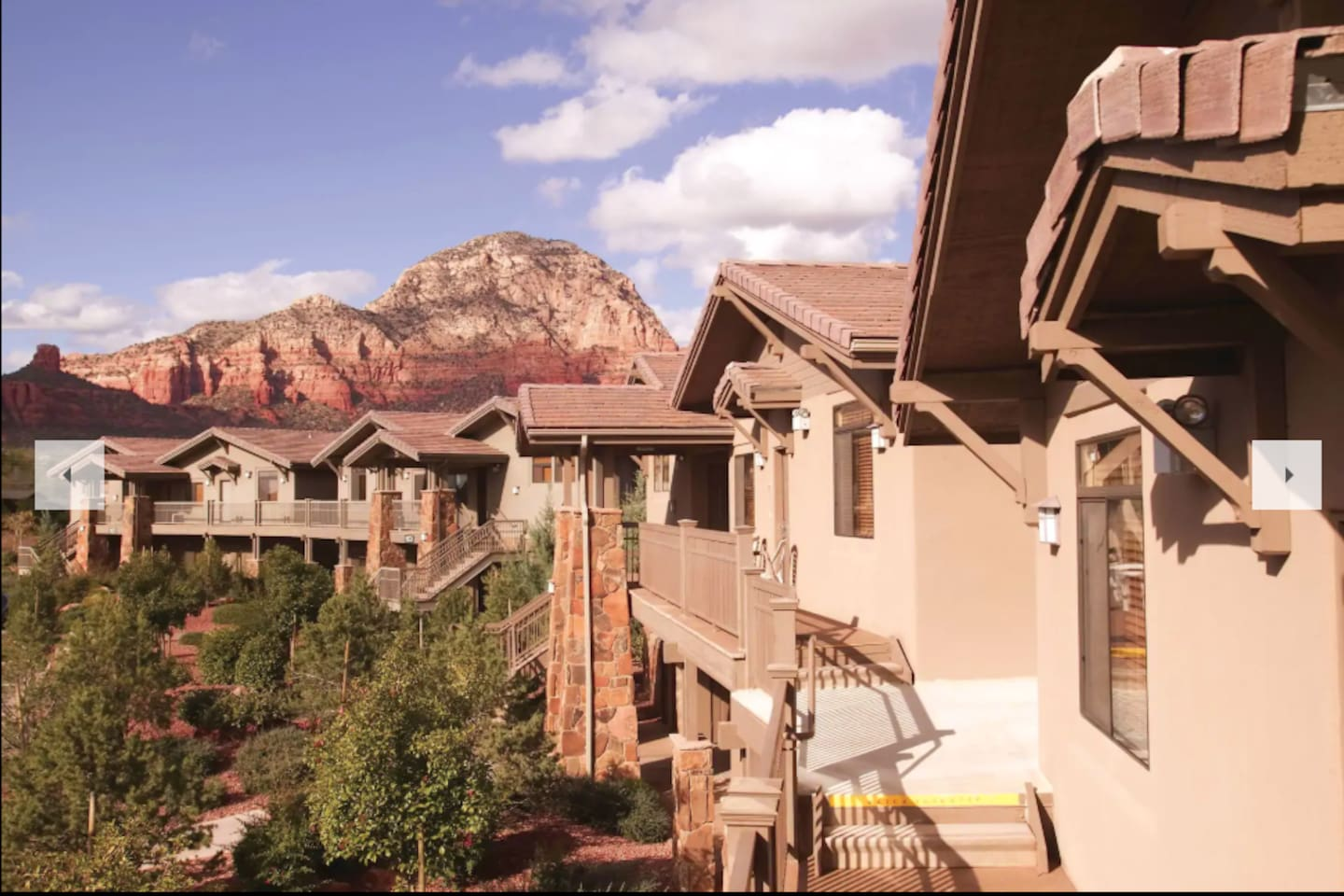 Sedona Resort and Picturesque Mountain View