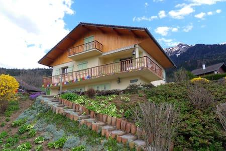 chalet calme et ensoleillé, 2  chambres proposées - Faverges - Villa