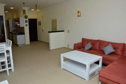 Apartment Nr 14 mit Meerblick (deutscher Standard)
