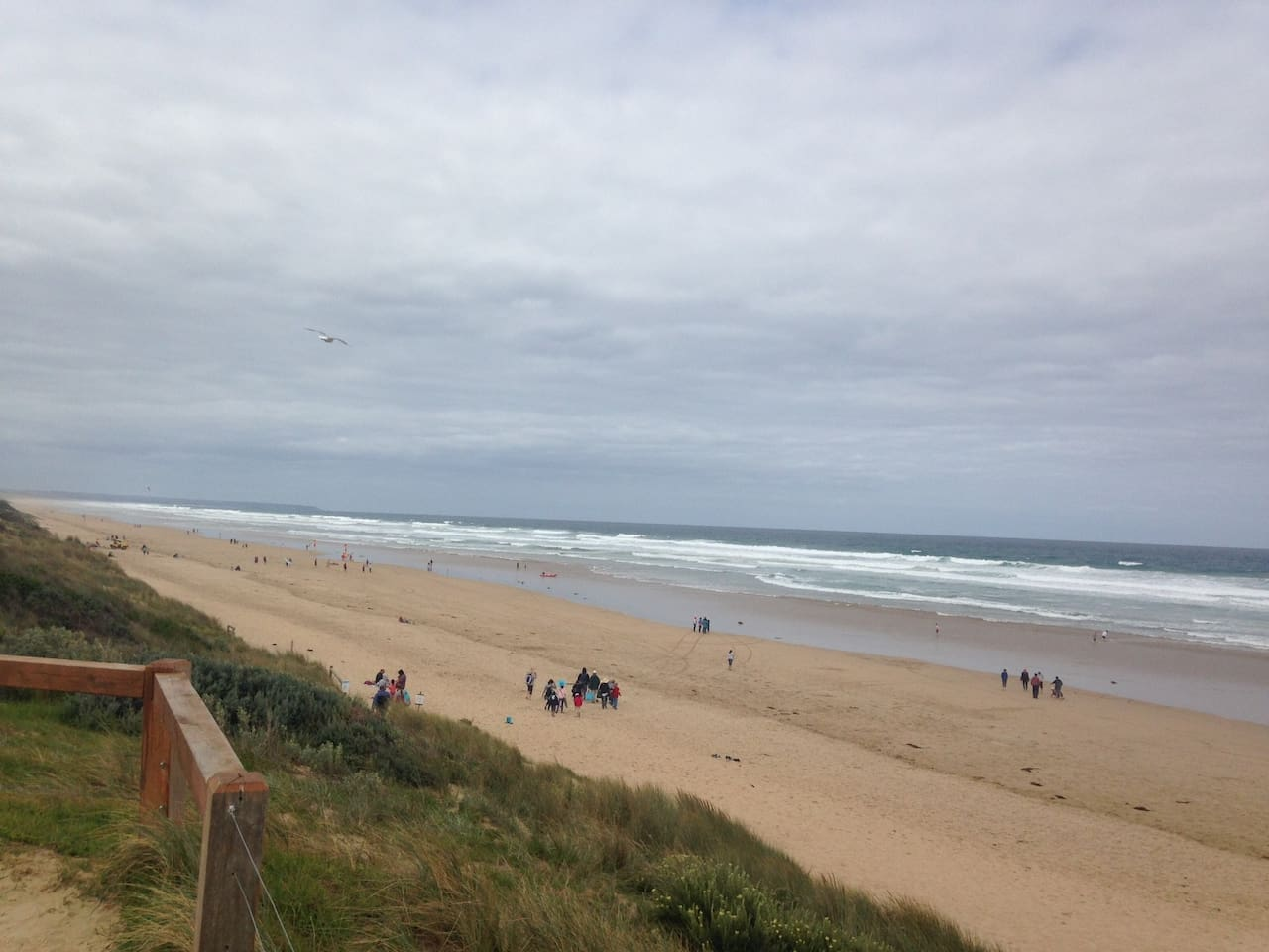 Only a 15 minute walk to this surf patrolled beach