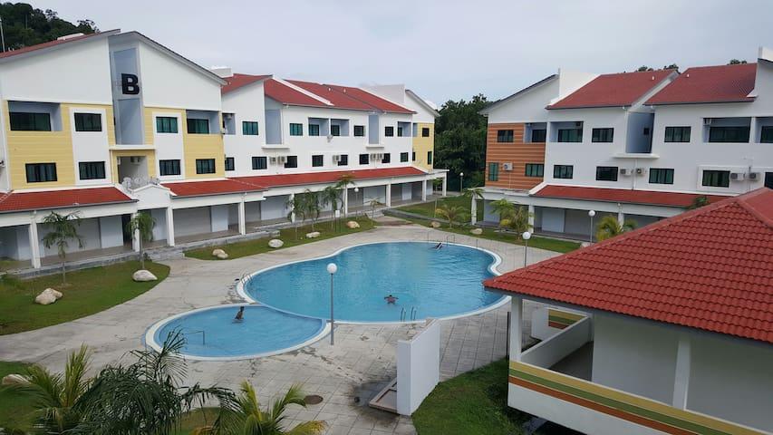 Juliette - 3-bedroom unit - Pangkor - アパート