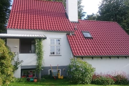 Familie-idyl i skovkanten - Værløse - Dům