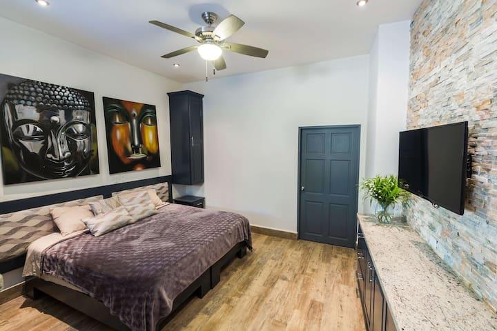 Stuido w/King Size Bed Option