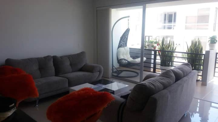 Acogedor apartamento en condominio