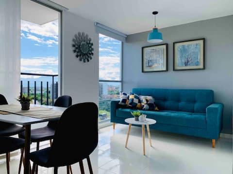Espectacular apartamento completo en Pereira