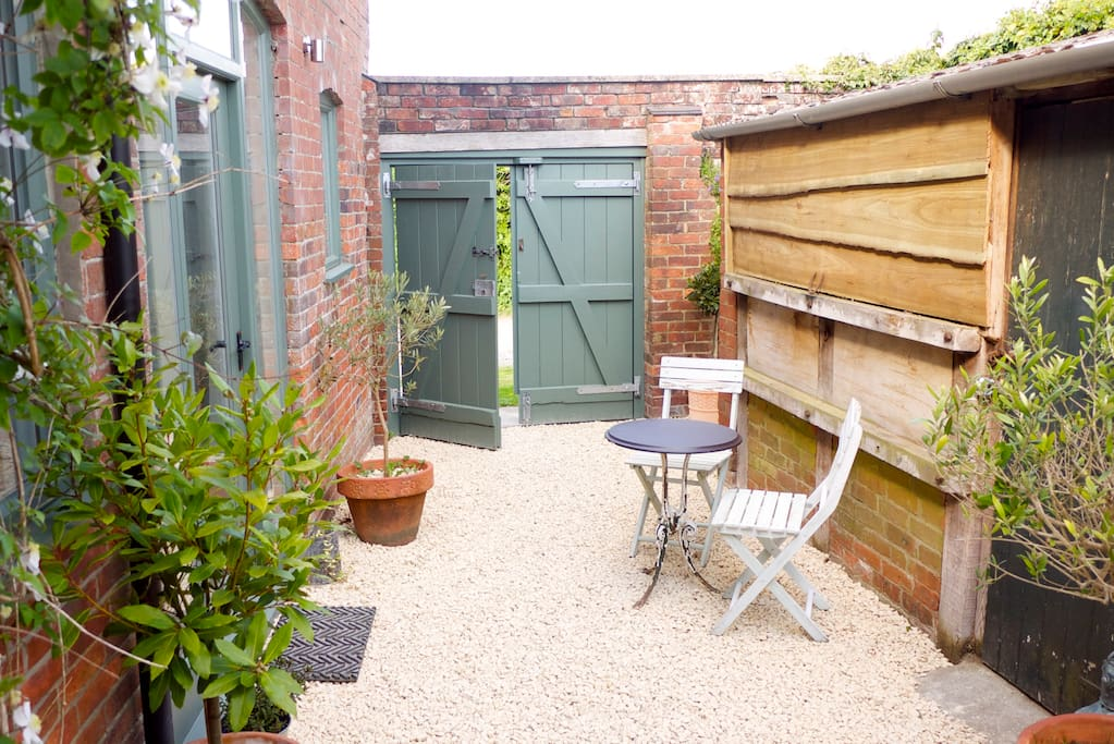Private Courtyard for guests.