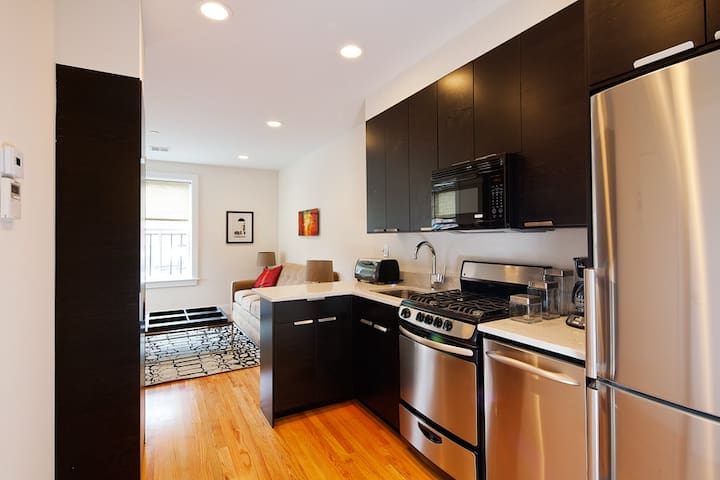 19th Century Luxury | South End | 1BR 1BA #3