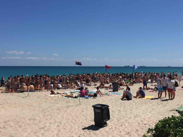 March break at Ocean Manor beach