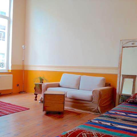 Appartement meublé, bien situé. - Ixelles - Apartment
