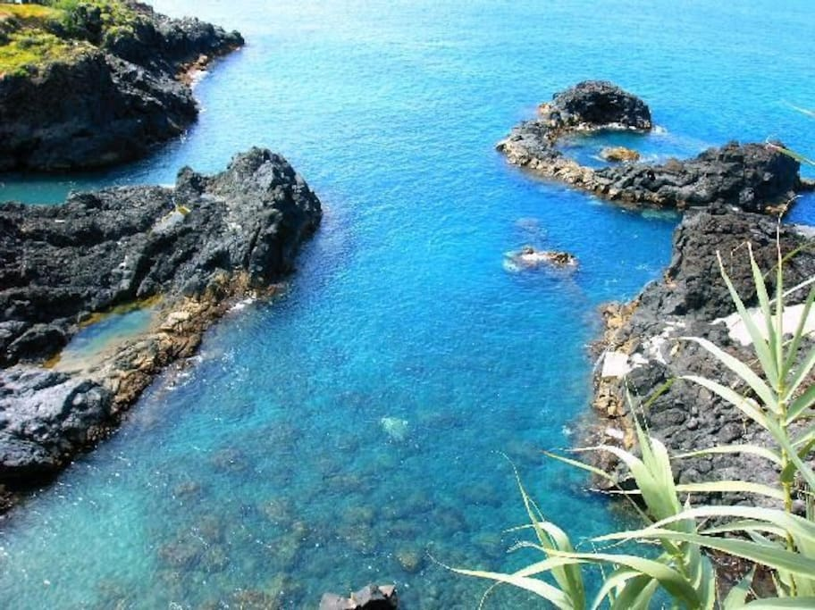 Calheta da cabra (swimming spot nearby)