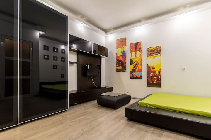Modern Studio in the heart of the city - București - Appartement