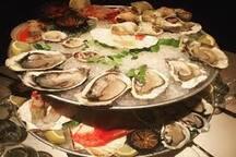 OSTRICHE E FRUTTI DI MARE da degustare nella vicina costa azzurra