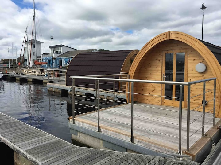 Kilrush Marina Floating Glamping Pod 2