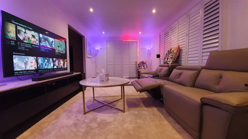 Modern gallery smart home near Yarra Valley