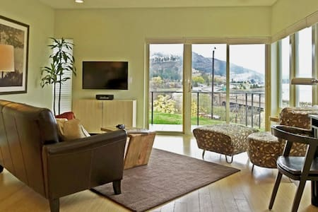 Condo with Columbia Gorge Views - Appartement en résidence