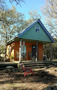 Tiny house in the Hill Country