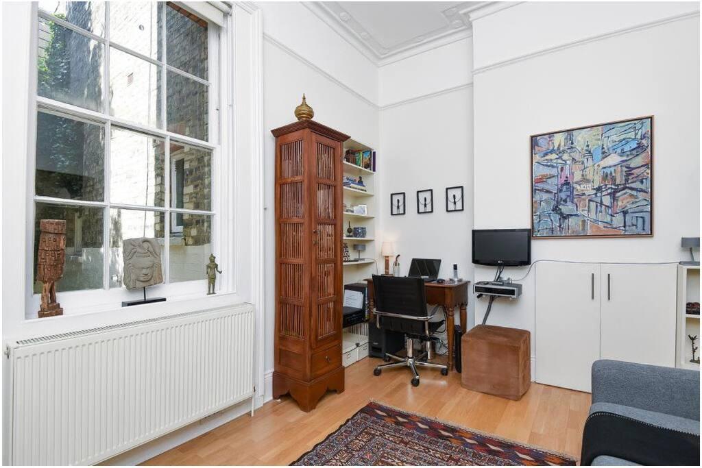 Home office corner.